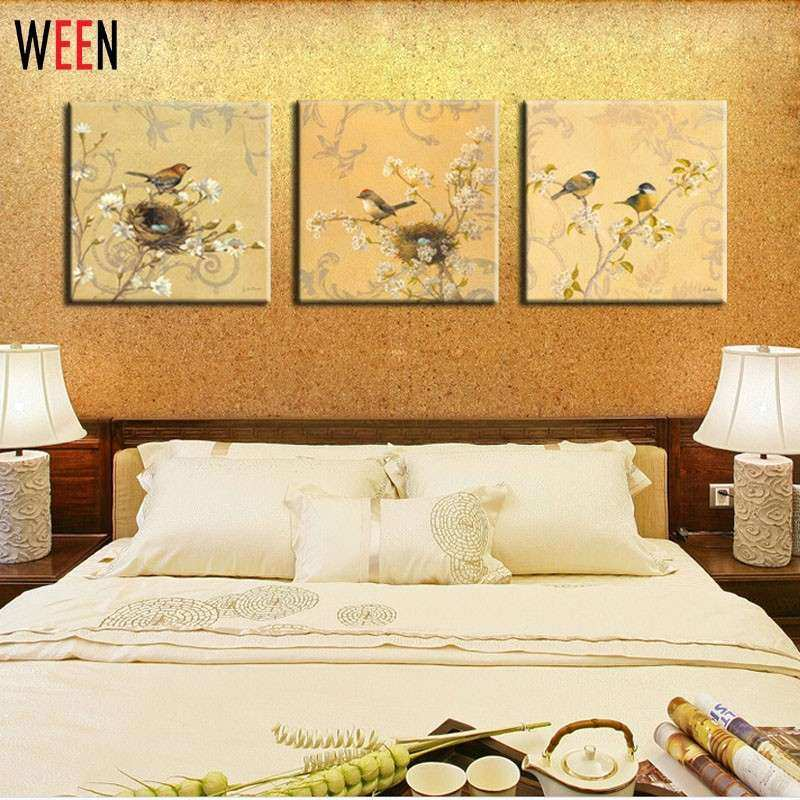 Elegant 3 Piece Canvas Wall Art Sets | Wall Art Ideas