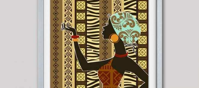 African American Wall Art And Decor Awesome African Artwork African Woman  African Painting African Wall Decor South African Art African