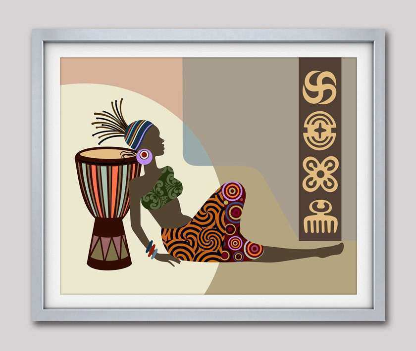African American Wall Art and Decor Awesome African Wall Decor ...