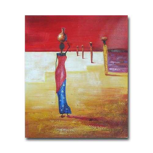 African Women Oil Painting Canvas Wall Art