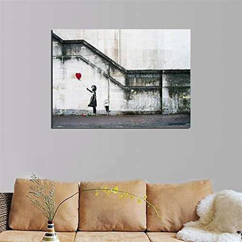 Amazon Wall Art Canvas Elegant Off Cenblue Framed Modern Art original Oil Painting