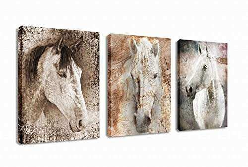 Canvas Wall Art Horse Animal Painting Prints on Canvas