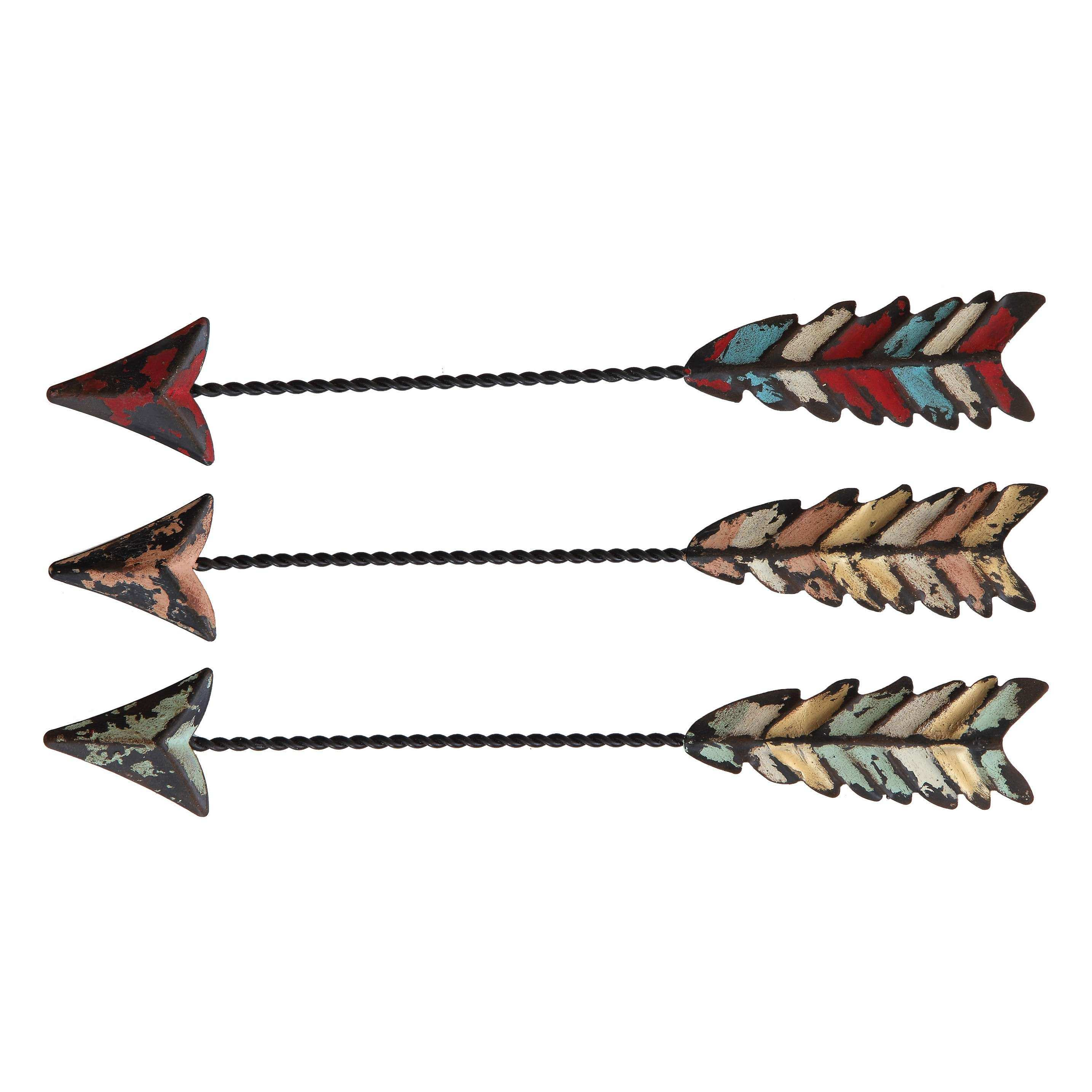 Creative Co Op 3 Piece Arrow Wall Decor Set & Reviews