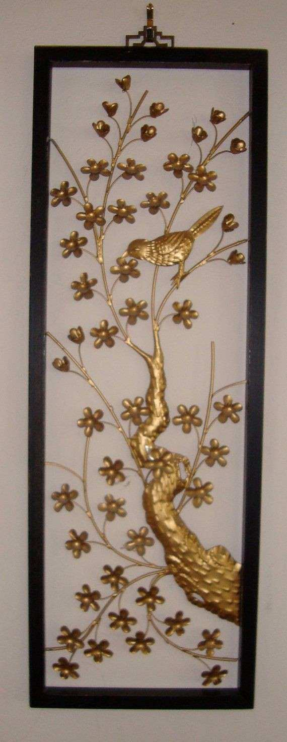 Asian Metal Wall Art Takuice
