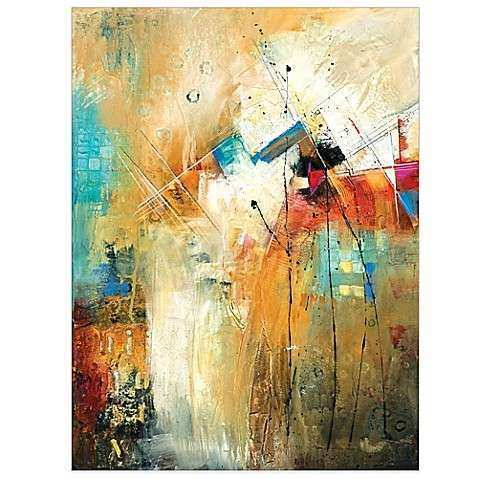 Here and Now Canvas Wall Art Bed Bath & Beyond