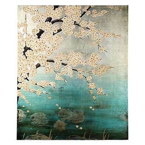 Plum Blossom Canvas Wall Art Bed Bath & Beyond