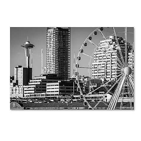 Wheel and Needle Canvas Wall Art Bed Bath & Beyond