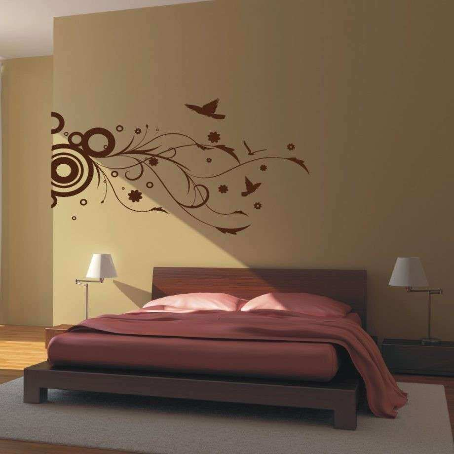 Bedroom Wall Decor Stickers Awesome Best About Interior