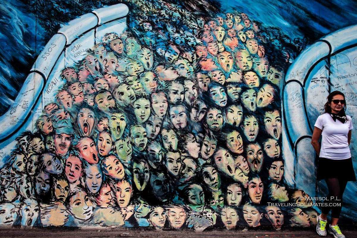 Berlin Wall Art Awesome The Murals On Berlin Wall S East Side Gallery