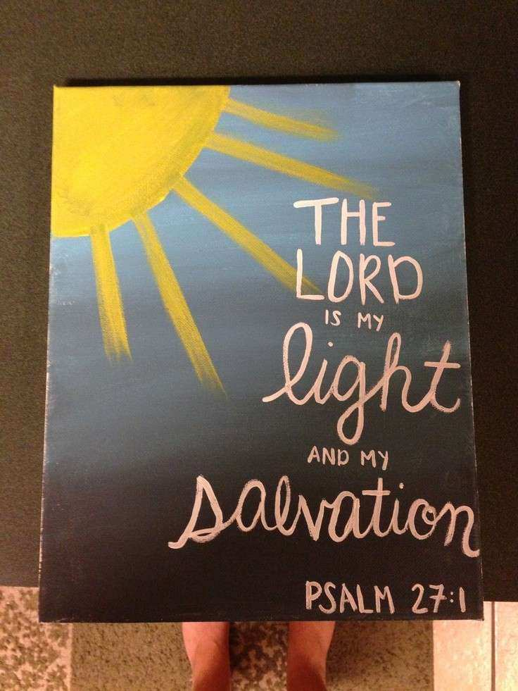 1000 images about Bible Verse Paintings on Pinterest