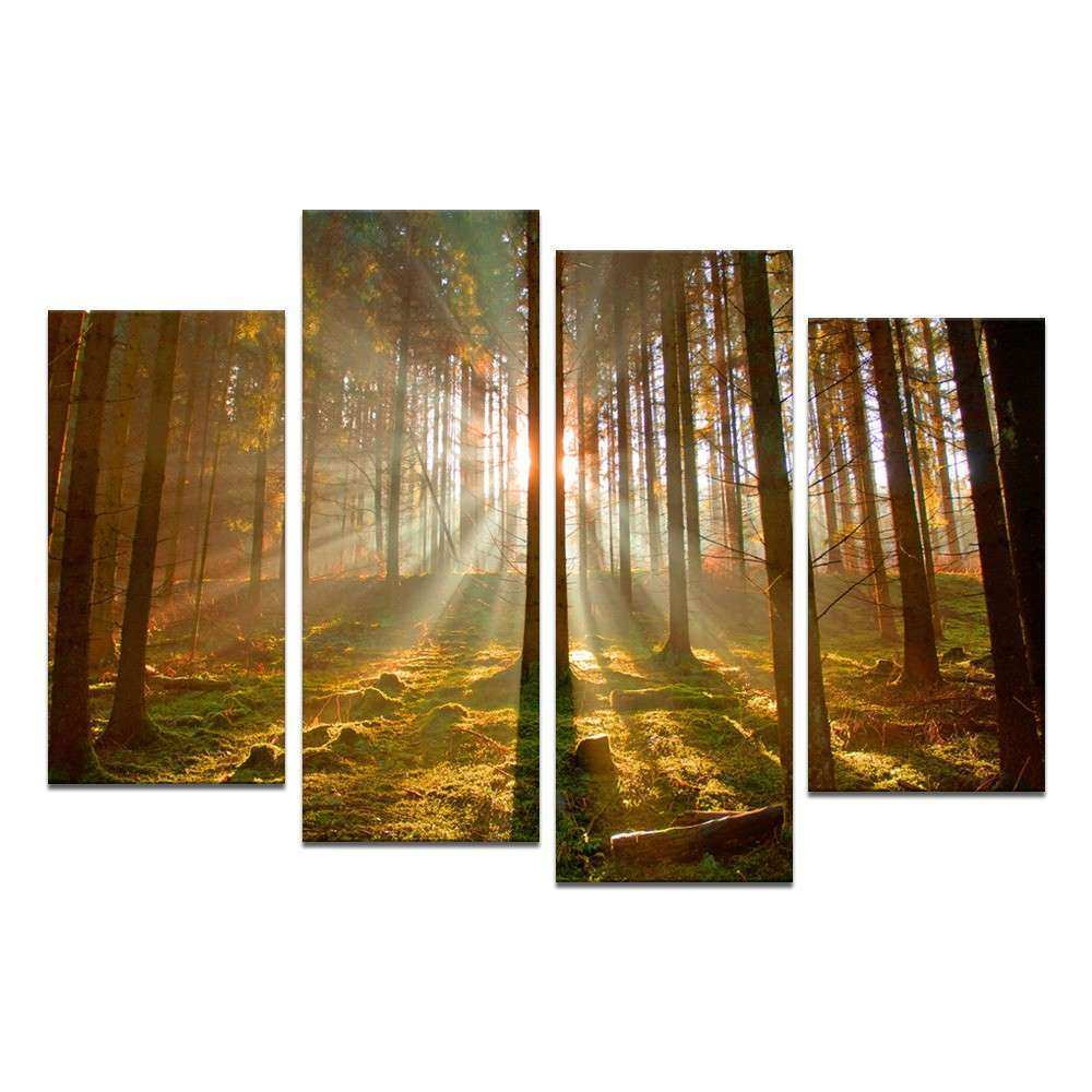 Adorable Canvas Wall Art as the Wall Decor of your
