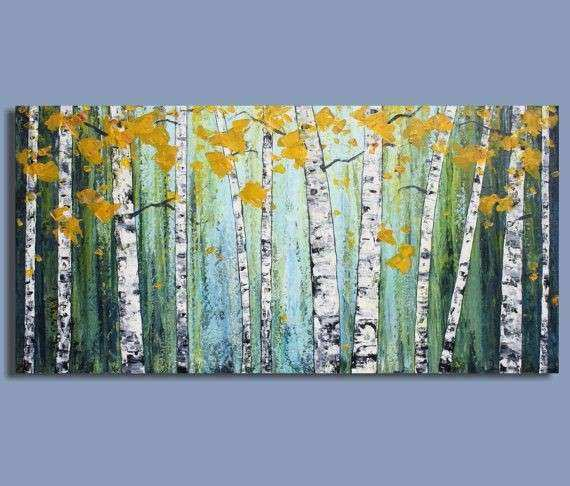 ORIGINAL painting abstract painting landscape painting