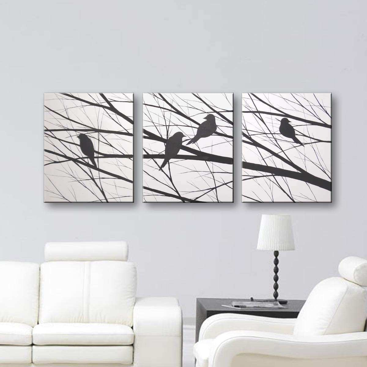 Bird Canvas Wall Art Inspirational Sale Love Birds Silhouette Wall Art Canvas Art by toddevansart