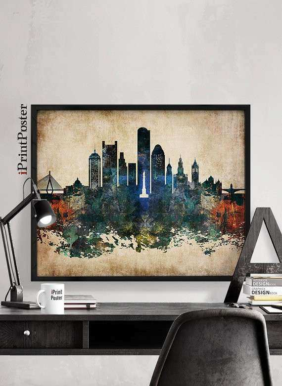 Lovely Boston Wall Art Fresh Boston Boston Print Boston Poster Massachusetts Wall  Art