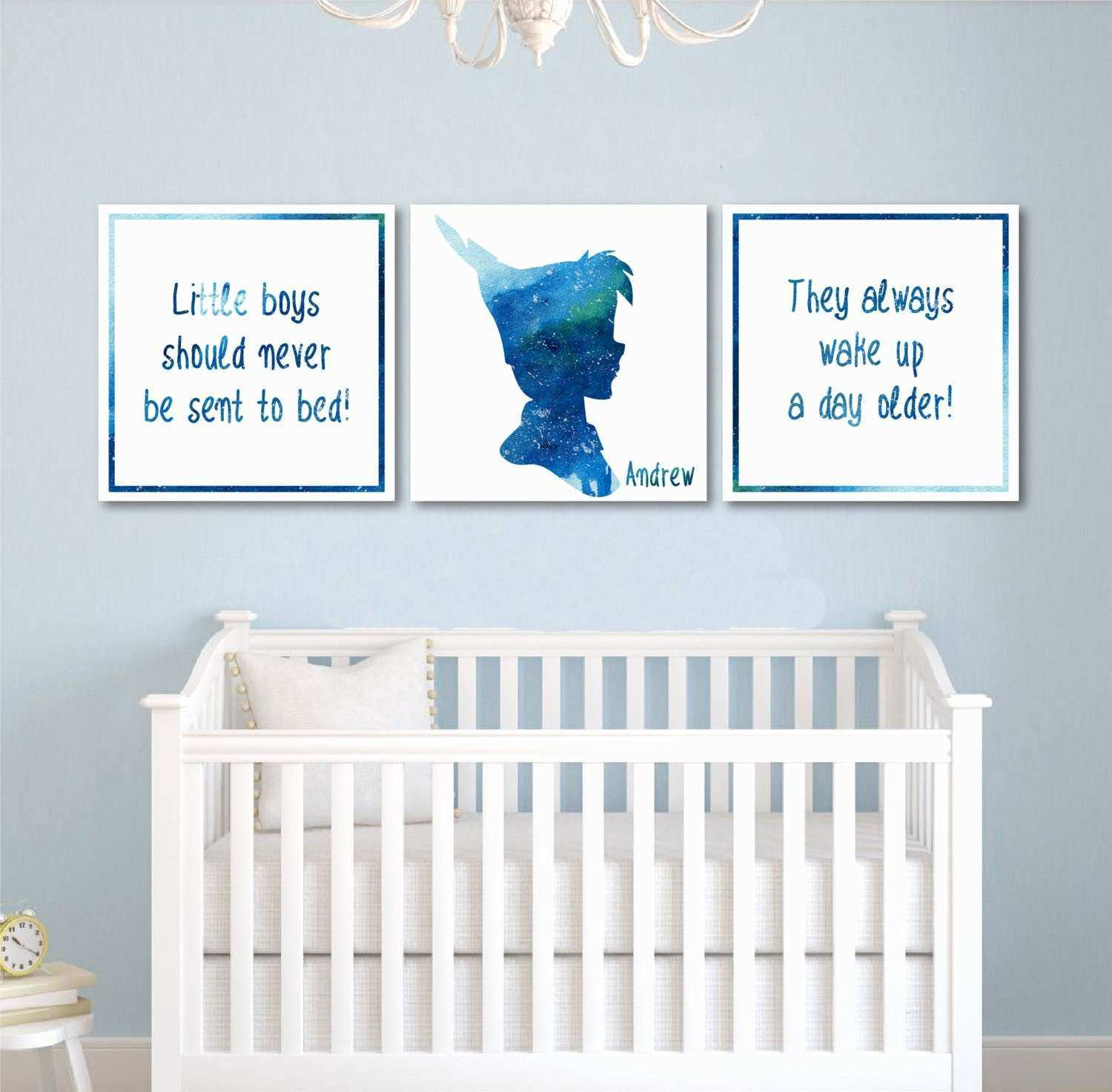 Boys Nursery Wall Decor Elegant Decals For Baby Boy Palmyralibrary