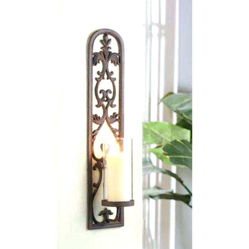 Candle Wall Decor Inspirational Wall Decor Candle Sconces Metal Wall ...