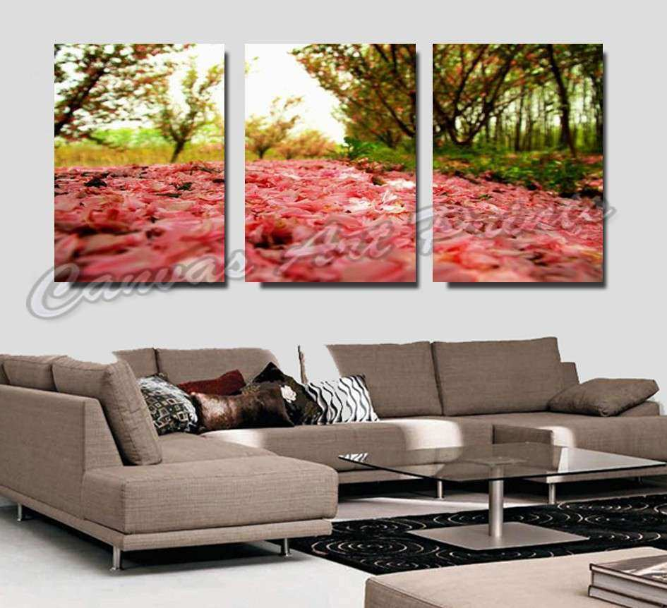 Modern Living Room Wall Decor Painting 3 Piece Art Sets