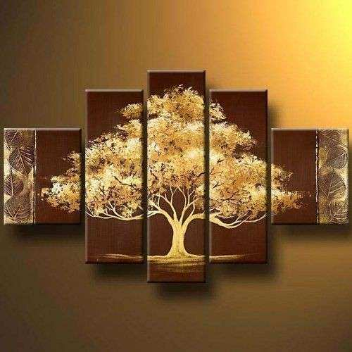 Tree Modern Canvas Art Wall Decor Landscape Oil Painting