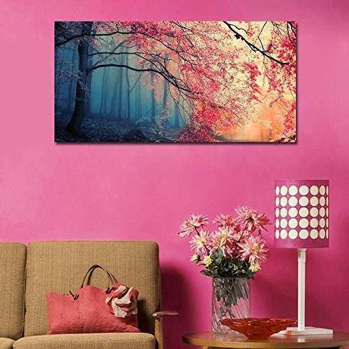 OFF Gardenia Art Red Maples Canvas Prints Canvas
