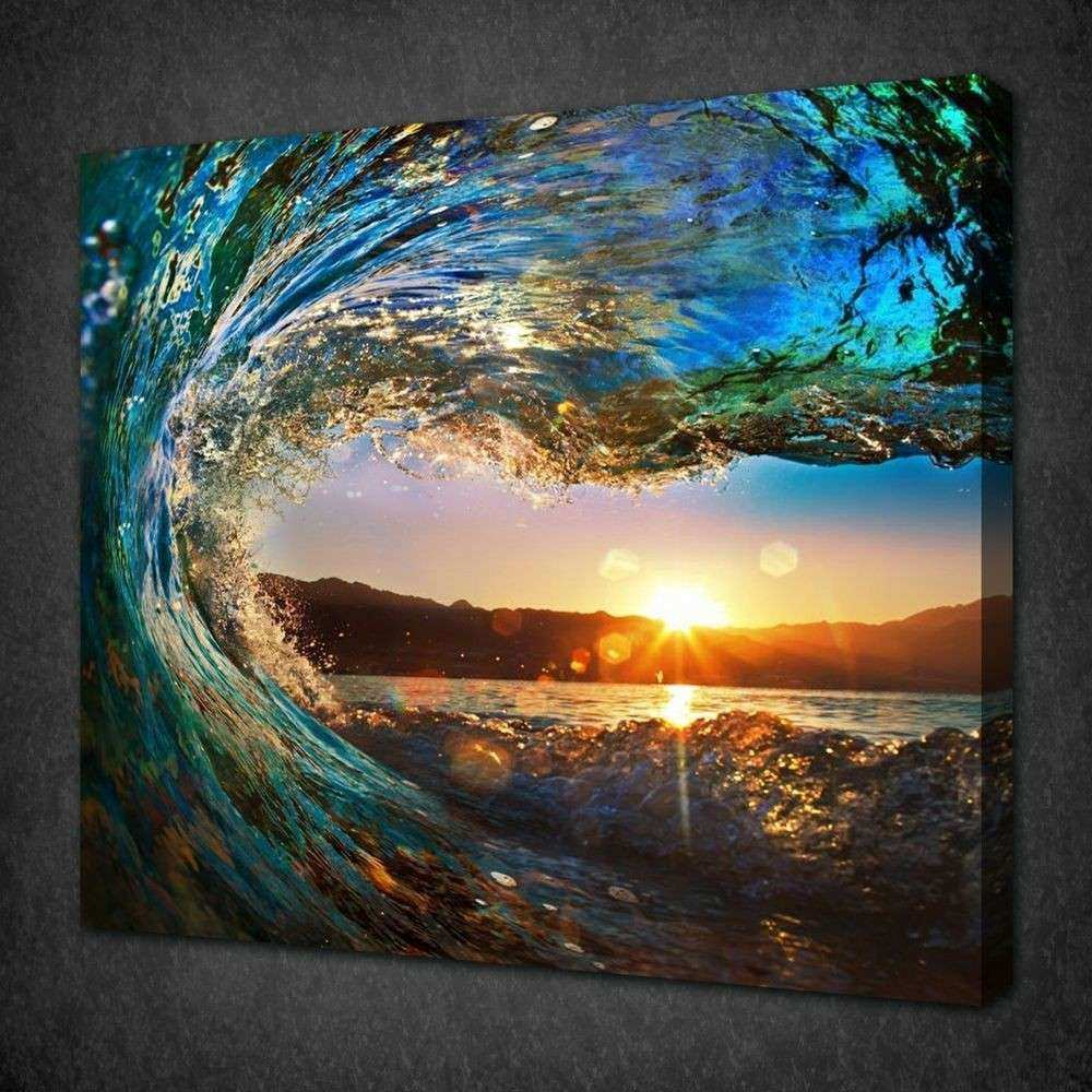 NOT FRAMED Canvas Print Canvas Art Cheap Sea Vie