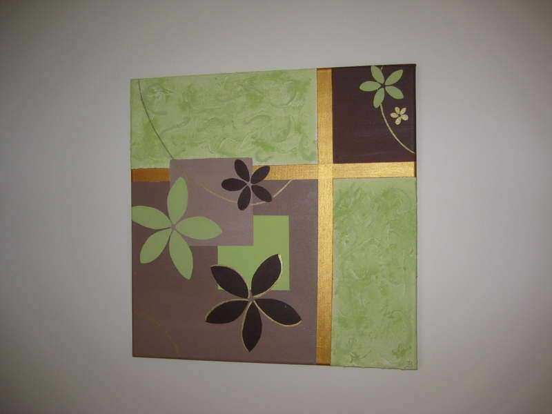 Canvas Wall Art Ideas Inspirational Walls Homemade Wall Art With Flowers  Motif Homemade Wall