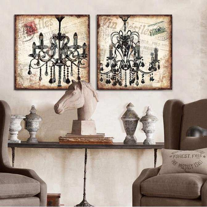 Chandelier Wall Art for Really encourage