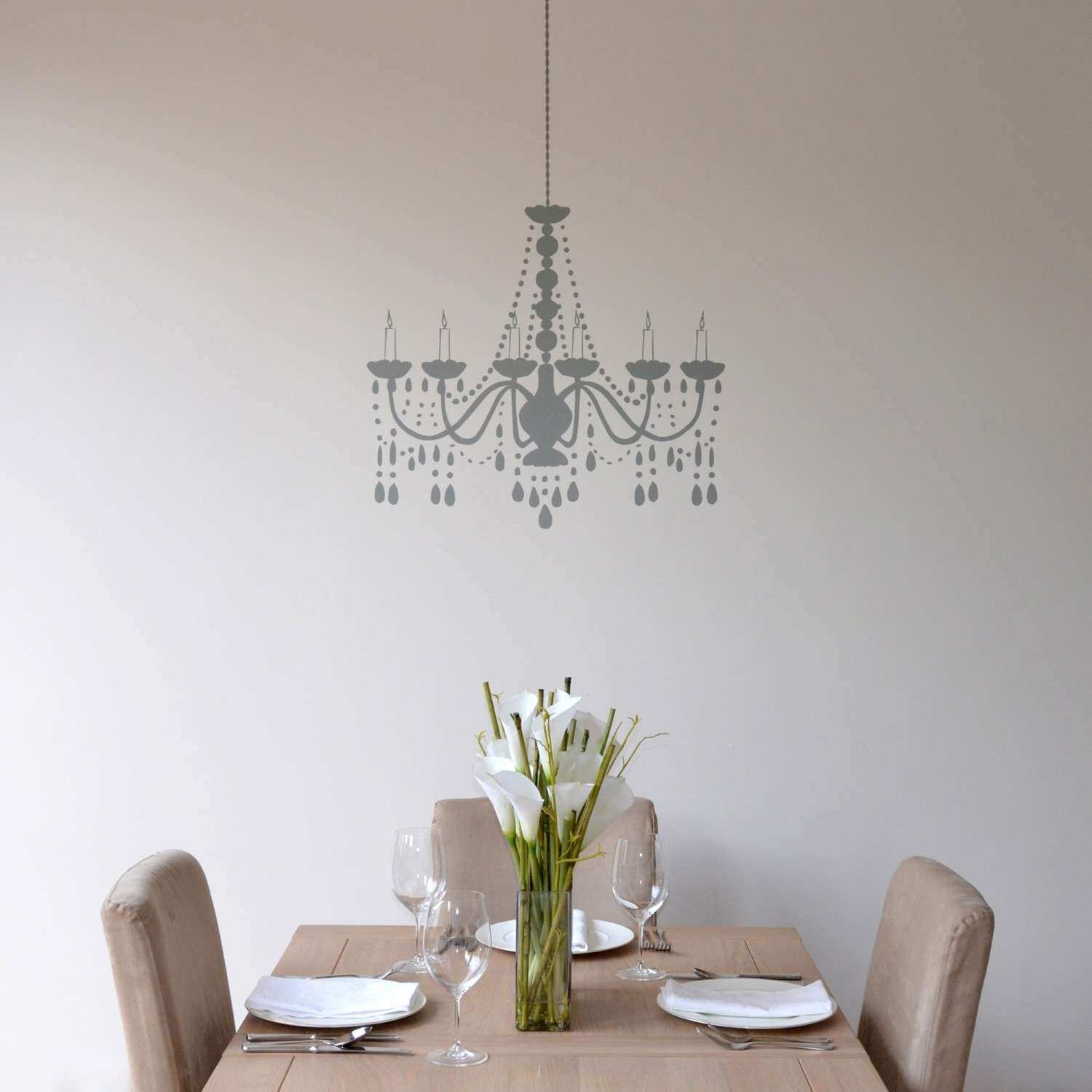 Elegant Lighting 5 Light Silver Chandelier With Grey