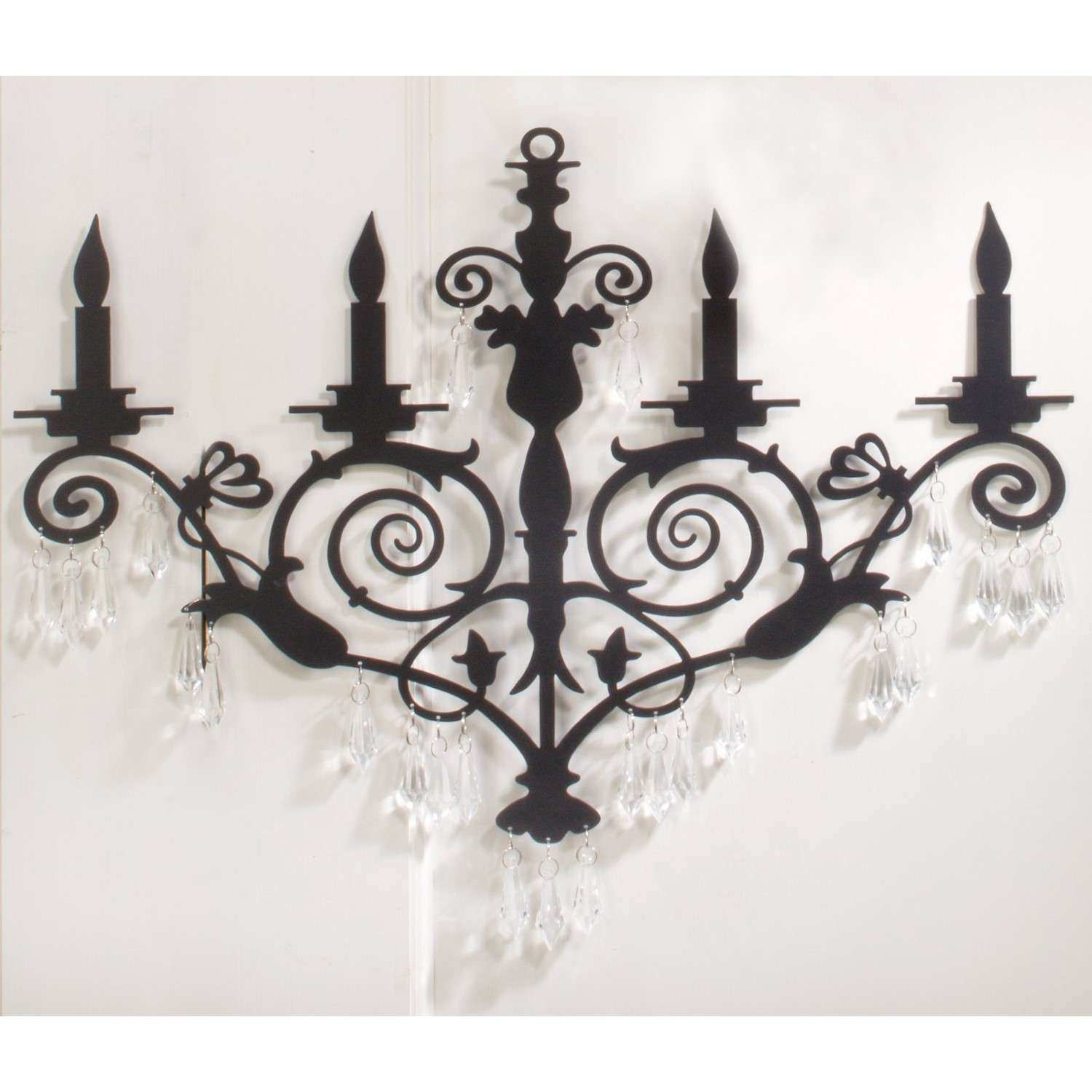 Tripar 1 Tier Chandelier Metal Wall Art