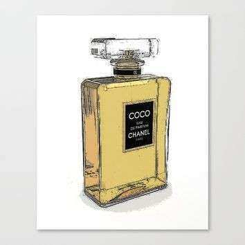 Shop Chanel Canvas Art on Wanelo