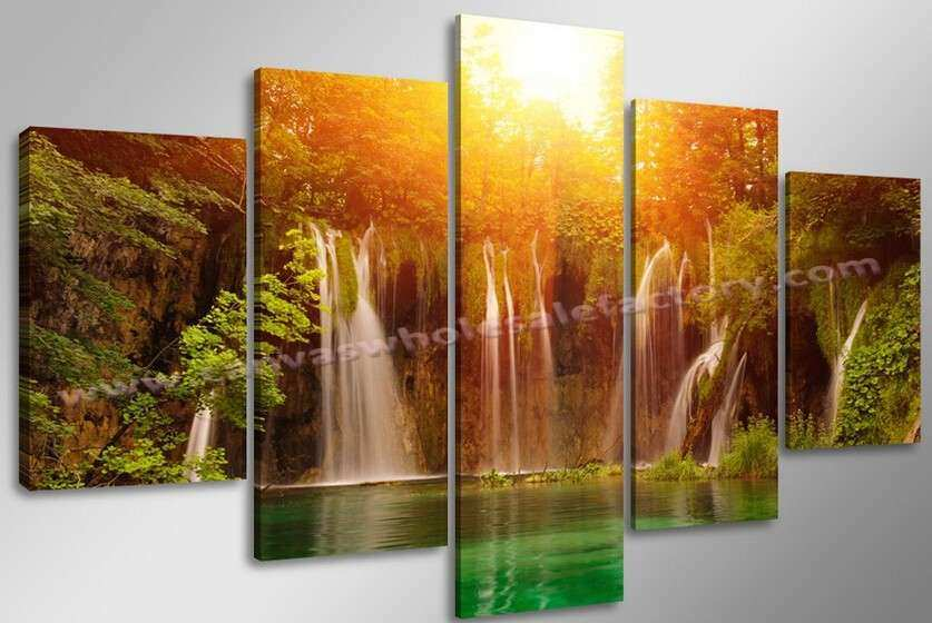 Hotselling Unstretched Modern Home Decor Canvas Art