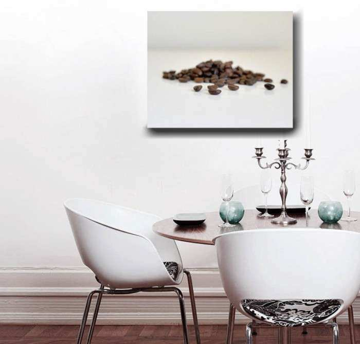 Coffee Bean on Canvas Wall Decor