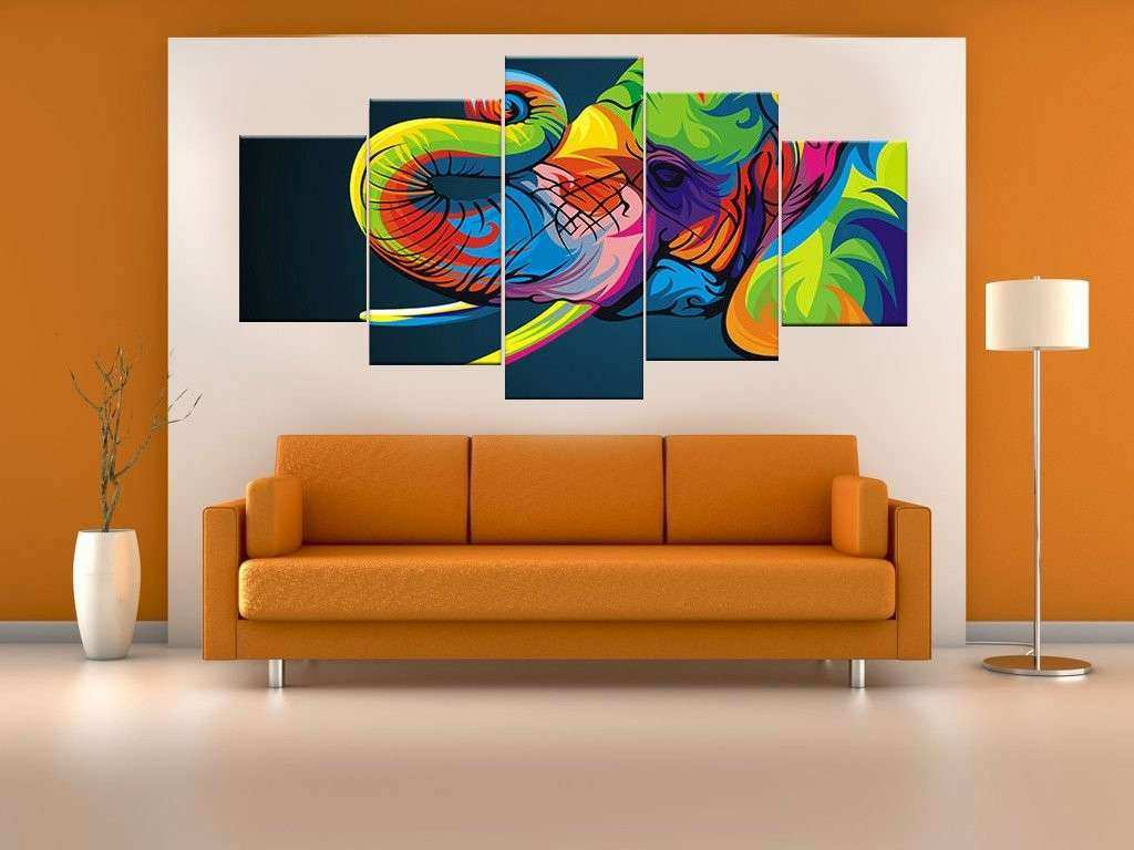 Colorful Aurora Borealis Canvas Wall Art Anjuna Lane
