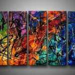Contemporary Canvas Wall Art Beautiful Canvas Art Modern Abstract Oil Painting Framed Xlm136 Of Contemporary Canvas Wall Art