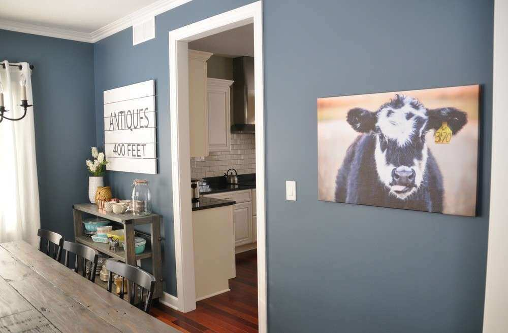 Dining Room Cow — Decor and the Dog