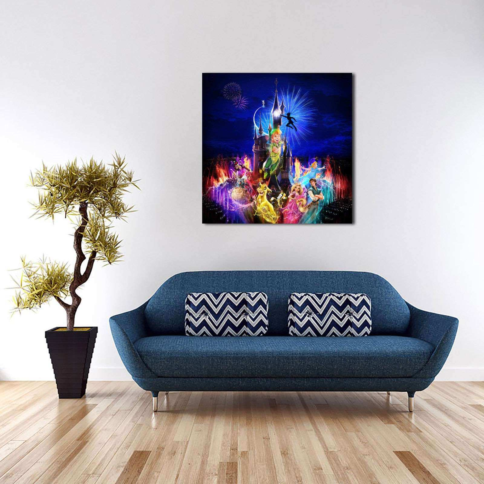 Disney character Paintings HD Print on Canvas Home Decor