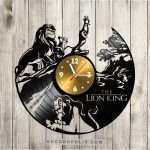 disney wall decor luxury lion king vinyl record clock disney clock disney wall art of disney wall decor