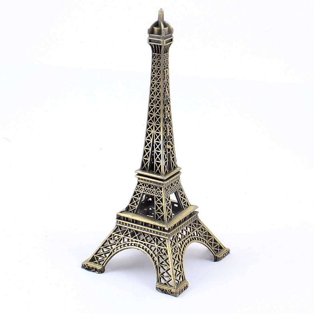 Eiffel Tower Wall Decor New Metallic Eiffel Tower Home Decor 13cm Paris  Bronze Tone