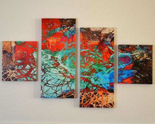 Canvas Wall Art Canvas Multi Panel Extra