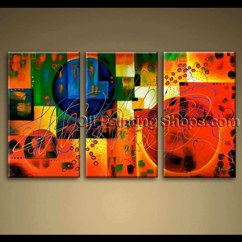 Extra Large Canvas Wall Art New Extra Large Wall Art Colorful Abstract Oil Painting On
