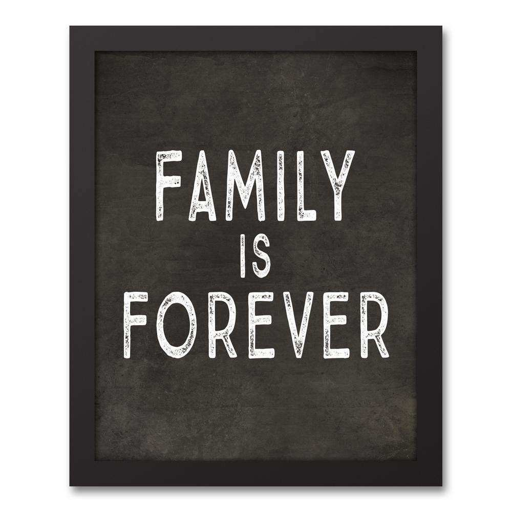"DESIGNS DIRECT 14 in x 11 in ""Family is Forever"" Printed"
