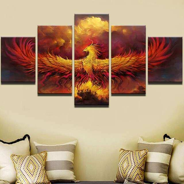 Buy Wall Art Canvas Painting Style Animal Decor
