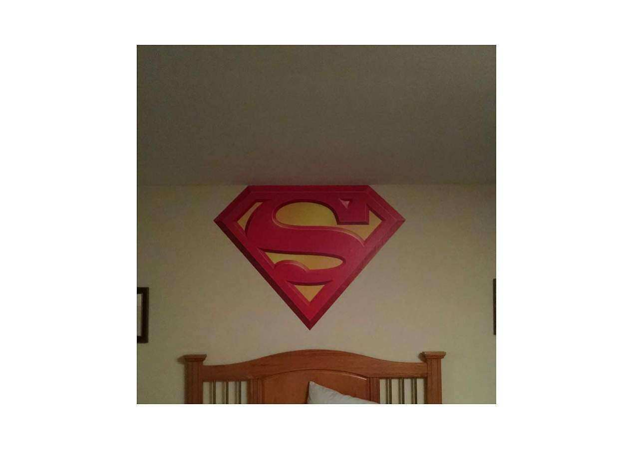 Fathead Wall Art New Superman Logo Wall Decal