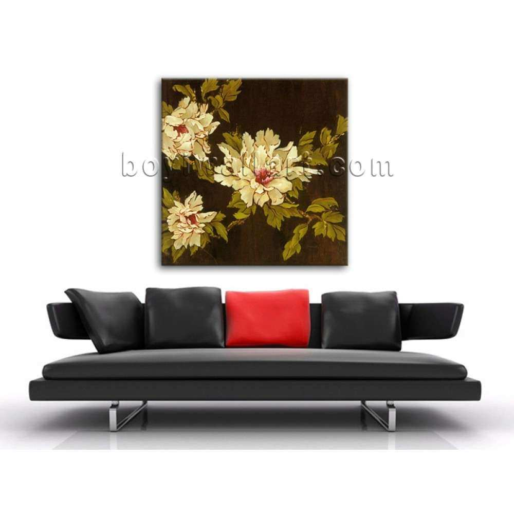 Contemporary Abstract Floral Painting HD Print Picture