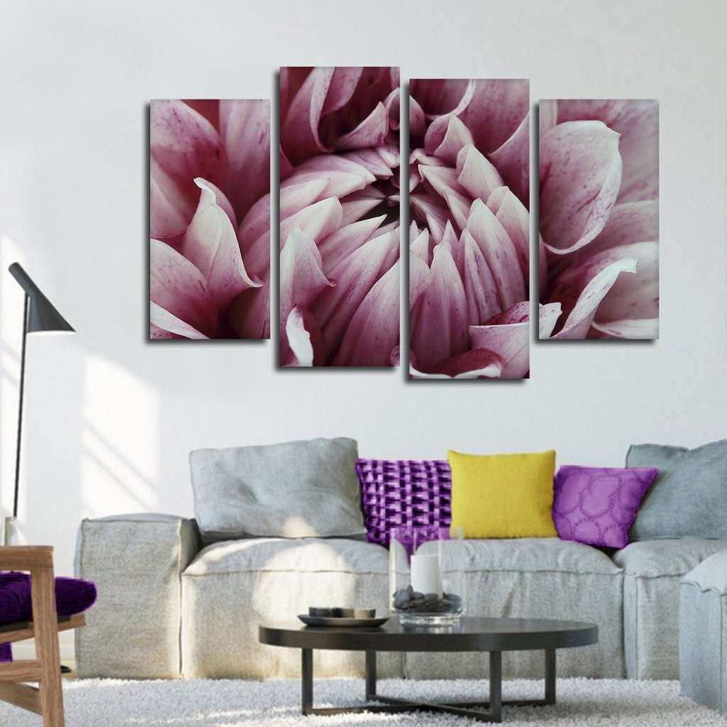 Floral Fantasy Multi Panel Canvas Wall Art