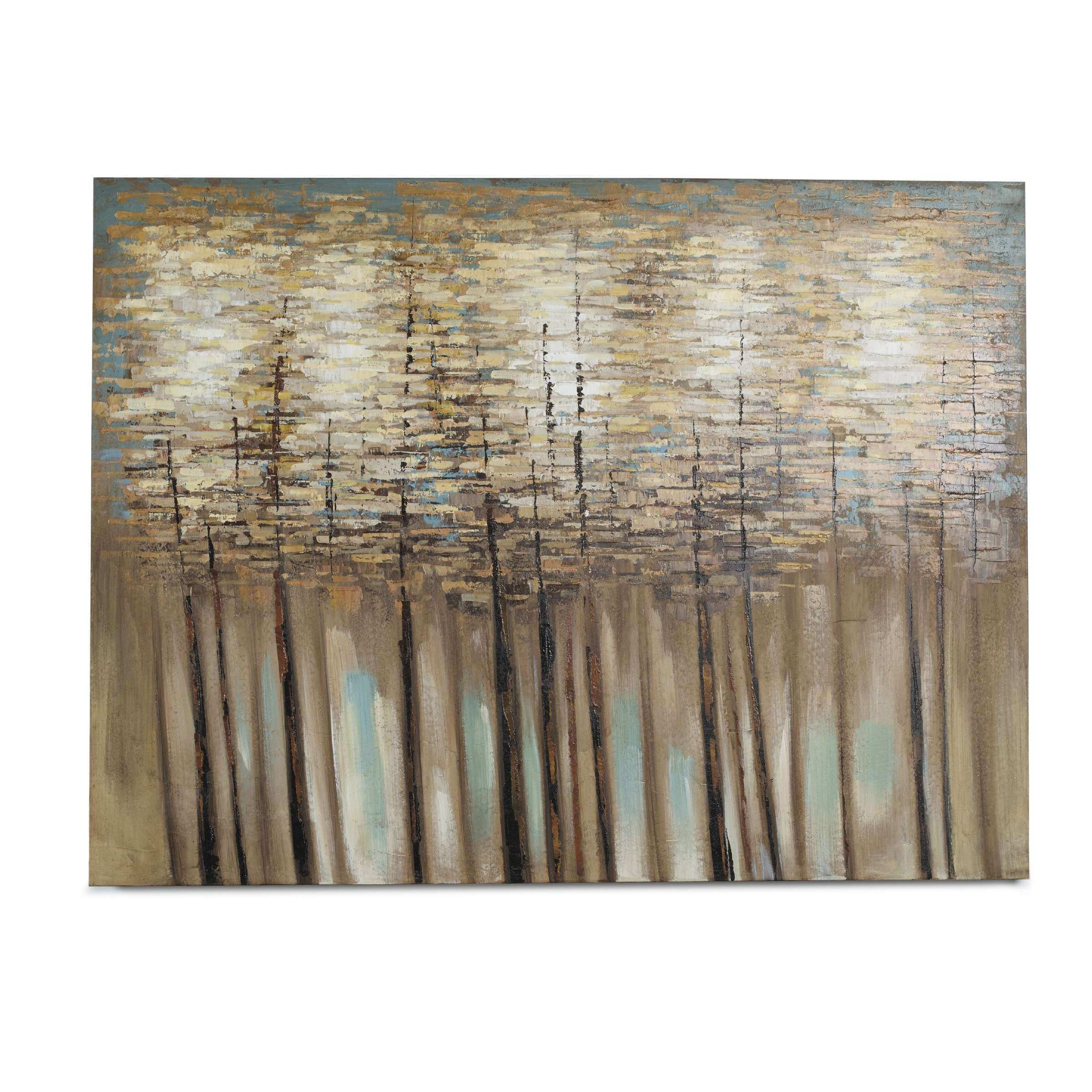 Bombay Forest Painting Print on Wrapped Canvas & Reviews