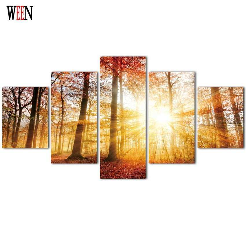 line Get Cheap Forest Canvas Aliexpress