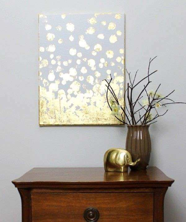 18 Gold leafed DIY Projects That Sparkle With Elegance