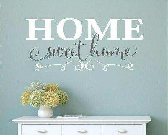 Home sweet home wall decor best of home sweet home vinyl wall decals home decor wall