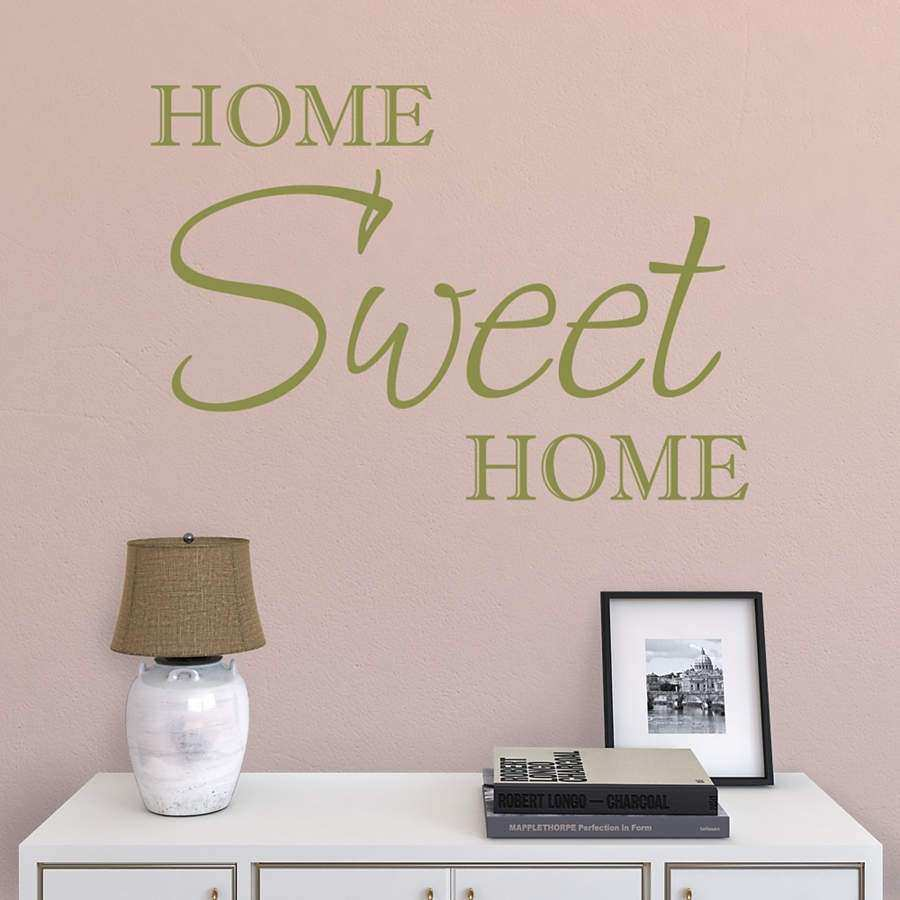 Home Sweet Home Wall Decor Best Of Home Sweet Home Wall Decal Wall