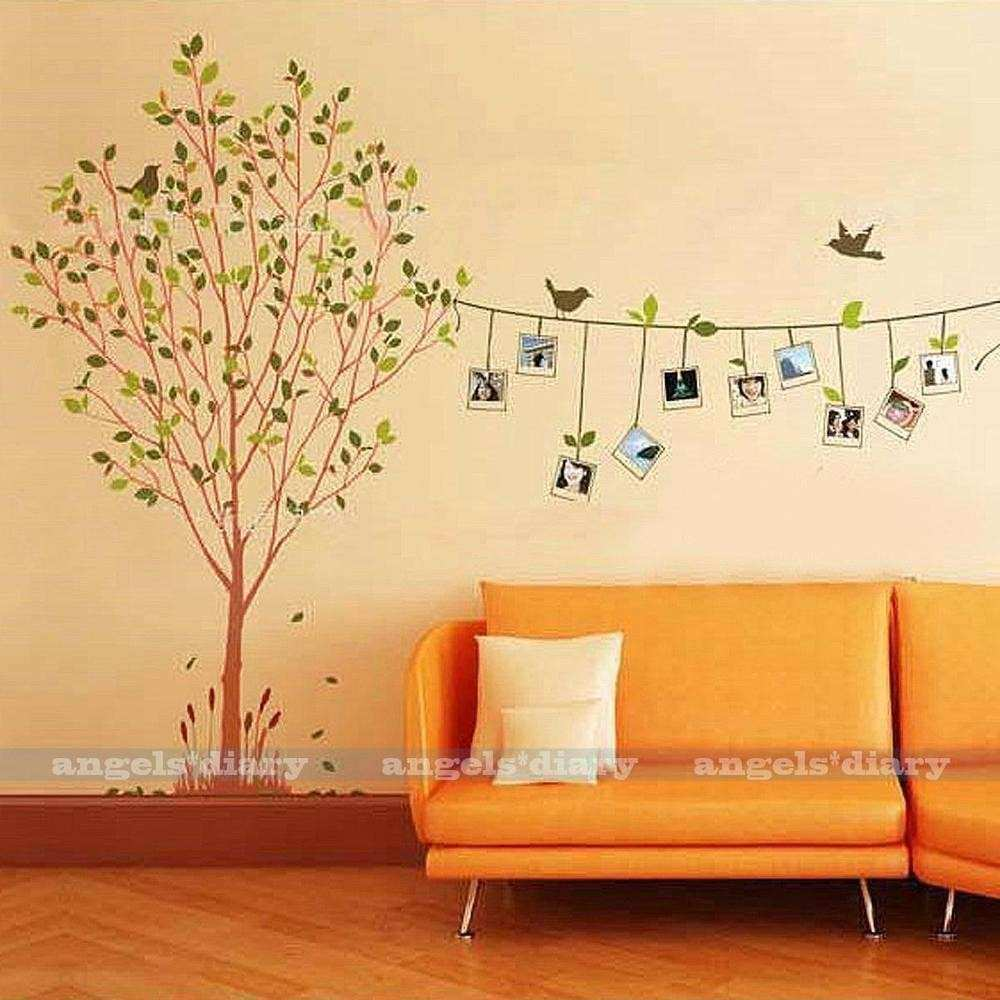 Removable Frame Tree Vinyl Art Wall Sticker Decal